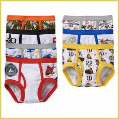 Boys Jake and the Never Land Pirates 3 Pack Briefs Pants Age 18-24 months