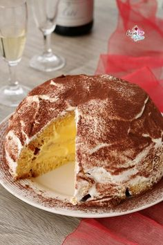 Torta di pandoro Sweet Recipes, Cake Recipes, Dessert Recipes, Biscotti, Nutella, My Favorite Food, Favorite Recipes, Cake & Co, Different Cakes