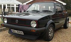Mk1 VW Golf GTI Black 1600cc - 1981 - Barn Find - Runner - Number Plate SEL100X - http://www.vwgticarsforsale.com/mk1-vw-golf-gti-black-1600cc-1981-barn-find-runner-number-plate-sel100x/