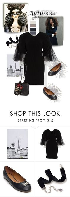 """August 26"" by anny951 ❤ liked on Polyvore featuring Karl Lagerfeld, Tommy Hilfiger, Sweet Romance and Rochas"