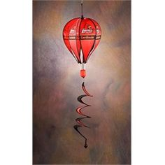 Louisville Cardinals Windsock Spinner- Hot Air Balloon Spinner