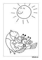 Bogyó és Babóca kifestők és színezők. Nyomtatható kifestők. Tag Image, Colouring Pages, Games For Kids, Summer Fun, Stencils, Crafts For Kids, Applique, Mandala, Cross Stitch