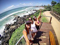 Fev.2015 | Um ano de saudade da Costa Dourada  #goldcoast #australia #wsl2015 #snapperrocks #gopro by aplleao