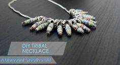 DIY Jewelry: DIY Tribal Necklace
