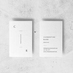 Business Card Design Inspiration, Work Inspiration, Self Branding, Branding Design, Minimal Graphic Design, Name Card Design, Letterpress Business Cards, Card Book, Unique Business Cards