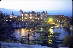 Mohonk at night...a favorite place on earth!