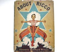 About Ricco 1937 Vintage Children's Book by lizandjaybooksnmore, $20.00