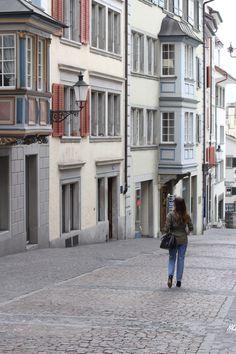 OLD TOWN ZURICH Travel Ideas, Travel Tips, One Step, Zurich, Old Town, Switzerland, National Parks, Street View, Architecture