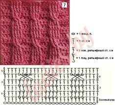 Коллекция узоров из кос и жгутов со схемами Crochet Men, Crochet Books, Crochet Motif, Free Crochet, Crochet Patterns, Crochet Cable Stitch, Crochet Stitches Chart, Diy Fashion Projects, Fillet Crochet