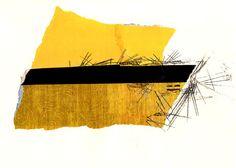 Collage Art Wall Art Wall Decor  Yellow Chinese by sassoart, $28.00
