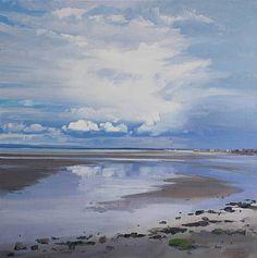 Scottish Artist John BELL - North Beach, Troon