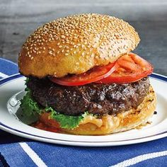 Best Ever Juicy Burgers Recipe & http://www.food.com/recipe/homemade-dry-onion-soup-mix-110331