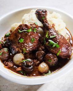 Coq Au Vin- Martha Stewart's Cooking School