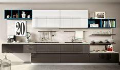Cuisine – My Home – Interior Design – Castelnau-le-Lez Kitchen Display, Kitchen Cabinet Design, Kitchen Cabinets, Apartment Interior Design, Modern Interior Design, Kitchen Dinning, Kitchen Decor, Kitchen Furniture, Kitchen Interior