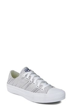 Converse Chuck Taylor® All Star® 'Chuck II - Ox' Knit Low Top Sneaker (Women) http://www.95gallery.com/