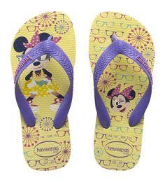 Havaianas Kids Minnie Light Yellow   Sand Dollar Dubai - Beach / Swimwear Online Store