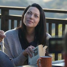 Laura Prepon playing Charlotte in The Hero Movie