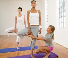How to Not Look Dumb Doing Yoga: Don't Take Adjustments Personally #SelfMagazine