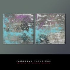 Landscape Abstract painting Combine us with by PanoramaPaintings