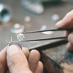 Each Tiffany diamond engagement ring is meticulously set by hand.