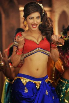Shruti_Haasan hot sexy boobs pics in red color choli  http://photoshotoh.com/shraddha-kapoor-wallpapers/