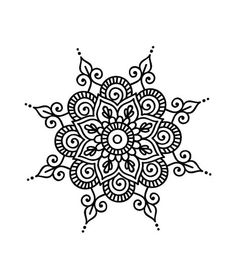 Mandala daire Best Picture For Mandala Drawing bohemian For Your Taste You are looking for something Mandala Doodle, Mandalas Drawing, Mandala Coloring Pages, Flower Henna, Flower Mandala, Mandala Design, Pattern Wall, Dibujos Zentangle Art, Tattoos Mandala