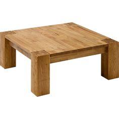 Solid Oak Coffee Table, Coffe Table, Coffee Table Design, Diy Garden Furniture, Log Furniture, Furniture Design, Woodworking Table Plans, Beginner Woodworking Projects, Center Table