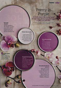 LaurieAnna's Vintage Home: The Color Purple