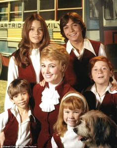 The partridge family Little Danny (far right) captured the hearts of millions as the smart-talking middle-child in the 1970s TV show about a family that forms a ...