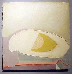Olivia Britt http://decdesignecasa.blogspot.it/ mustard/green gold, white, pale blue, red/orange