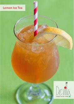 #Refreshing #Lemon #Ice #Tea @DevillaRestro   #Surat