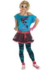 teen girls 80s valley girl costume party city - 80s Dancer Halloween Costume