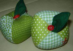 PATCHWORK ... maçãs verdes