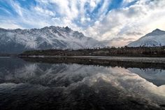 Photographed by @emtiaazhussain this shot shows the vastness of the Indus River that flows through Skardu #Pakistan during the winter. The Indus is vital to Pakistans economy and agriculture. However in recent years climate change has caused the Tibetan glaciers to melt resulting in irregular precipitation which in turn threatens Pakistans future supply of water. How would you protect the environment? Share your tips with us in the comments. #NikonAsia. Shot with a #Nikon #D5500 and the AF…