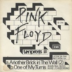 "For Sale - Pink Floyd Another Brick In The Wall - EX Poland  7"" vinyl single (7 inch record) - See this and 250,000 other rare & vintage vinyl records, singles, LPs & CDs at http://eil.com"