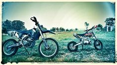 Father and Son. We love riding our bikes Father And Son, Biking, Adventure Time, Offroad, Motorcycle, Fun, Photos, Pictures, Off Road