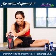 Lo mejor para deportistas, la mezcla exclusiva de doTERRA, Deep Blue