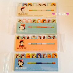 Kawaii Sticky Note Page Markers by Linkys on Etsy, £3.00
