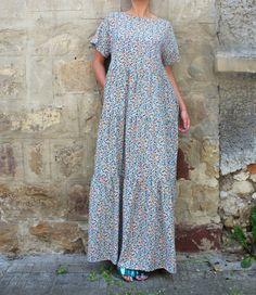 New SS16 Maxi Dress Boho dress Maxi Dress by cherryblossomsdress