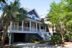 A five-bedroom cottage on Sullivan's Island, a small beach community off the coast of Charleston, S.C.