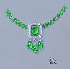 private label emeralds and pink diamonds