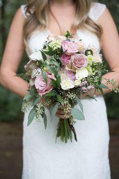 romantic pink bouquet | Christie Graham Photography | Glamour & Grace