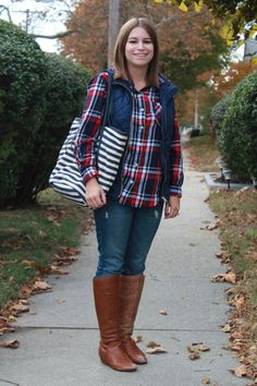 Quilted vest outfit