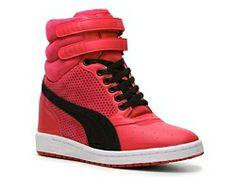 Puma Sky Wedge Sneaker #DSW