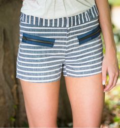 gilt   gossamer - Nautical Striped Shorts, $45.00 (http://www.giltandgossamer.com/nautical-striped-shorts/)