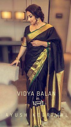 Vidya Balan wearing Ayush Kejriwal For purchases email me at designerayushkejriwal@hotmail.com or what's app me on 00447840384707 We ship WORLDWIDE. Instagram - designerayushkejriwal