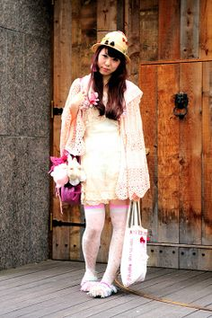 Sweet Cult Party Kei outfit