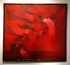 """""""Ciudad Prohibida (V)"""" by Fernando de Szyszlo, peruvian artist."""