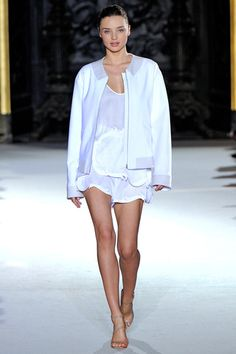 Stella McCartney. Paris Fashion Week, primavera verano 2012.