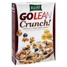 Worst Cold Cereals: Kashi GO LEAN Crunch; high in sugar